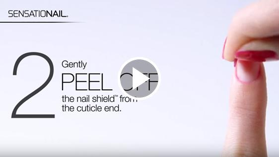 Wie man abziehbare nagelschiLdE verwendet